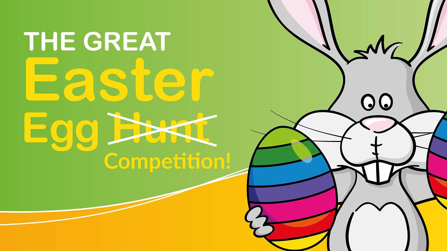 THE GREAT EASTER EGG HUNT QUIZ & COLOURING COMPETITION