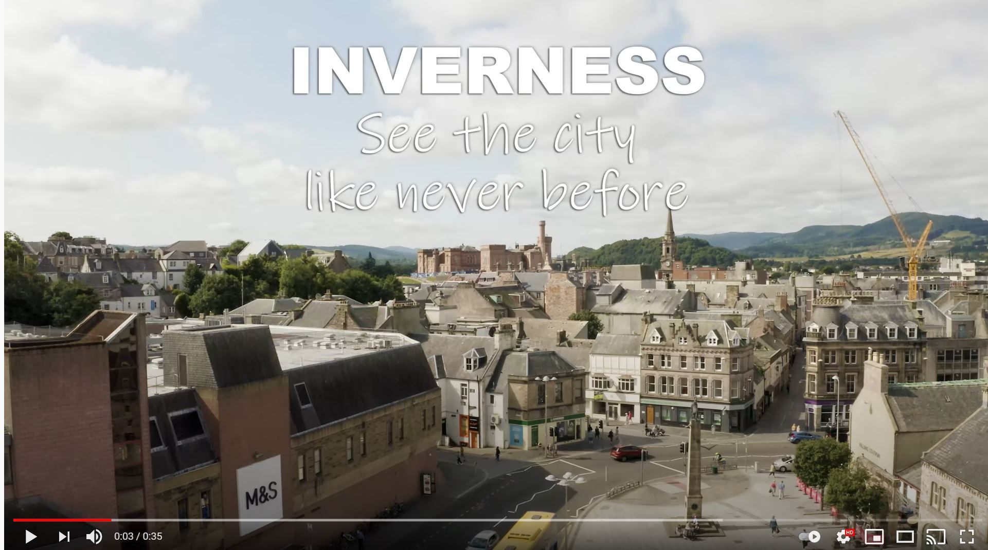 Inverness See the City Like Never Before